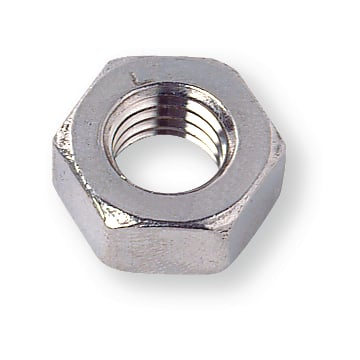 Hexagon Nuts UNC steel 8 3/8 inch zinc-plated